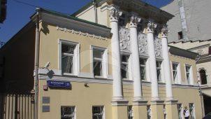 Главный дом, городская усадьба Е.П. Мочаловой — В.Г. Малича,1857 г., 1888 г., перестройка в 1906-1910 гг., арх. И.В. Жолтовский