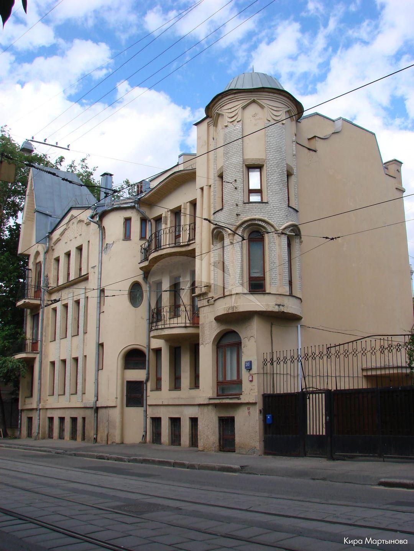 Жилой дом Е.Д. Ломакиной, 1909-1915 гг., арх. В.С. Масленников