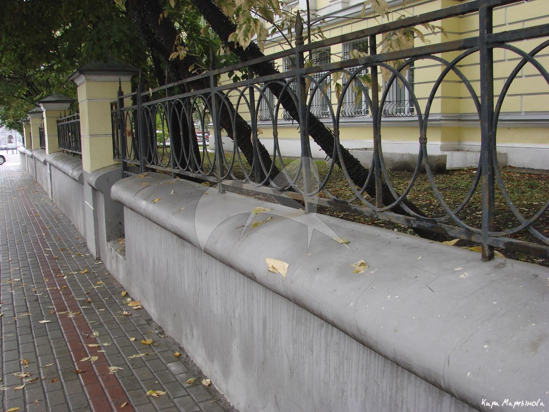 Ограда, комплекс мужской гимназии