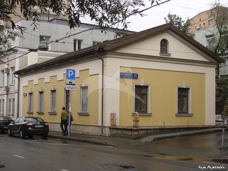 Служебный флигель, 1818 г., 1910 г., комплекс мужской гимназии