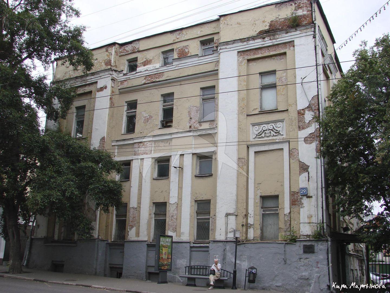 Здание Басманной части, 1782 г.