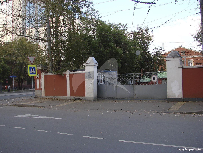 Ограда, 1908 г., ансамбль Миусского трамвайного парка