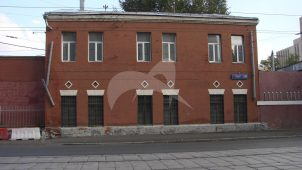 Кладовая с проходной, 1874 г., 1910 г., 1926 г.,  ансамбль Миусского трамвайного депо