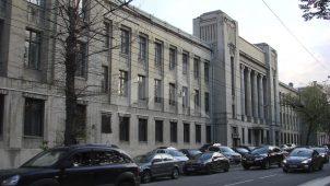 Здание Университета Шанявского, 1930-е гг., арх. Е.В. Шервинский