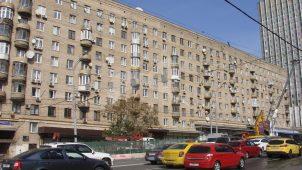 Дом, в одной из квартир которого в 1962-1968 гг. жил кинорежиссер И.А. Пырьев