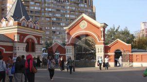 Ворота северные, 1833-1853 гг., Покровский монастырь