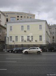 Дом Президента Московской дворцовой палаты сенатора А.Н. Урусова, в котором в 1827 г. бывал А.С. Пушкин