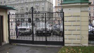 Ограда, 1890-е гг., Московская Софийской детская больница ведомства Учреждений Императрицы Марии