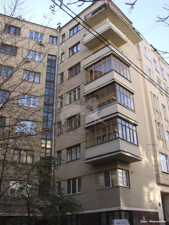 Жилой дом, 1932 г., инж. Д.С. Лебедев, Н.А. Ладовский (?), комплекс жилых домов «На Ситцевом Вражке»