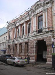 Дом С.В. Спиридонова, 1895 г., арх. С.С. Эйбушиц