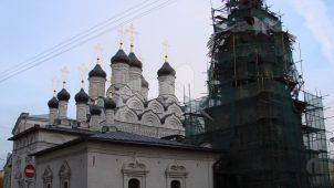 Церковь Знамения за Петровскими воротами, 1679-1680 гг.
