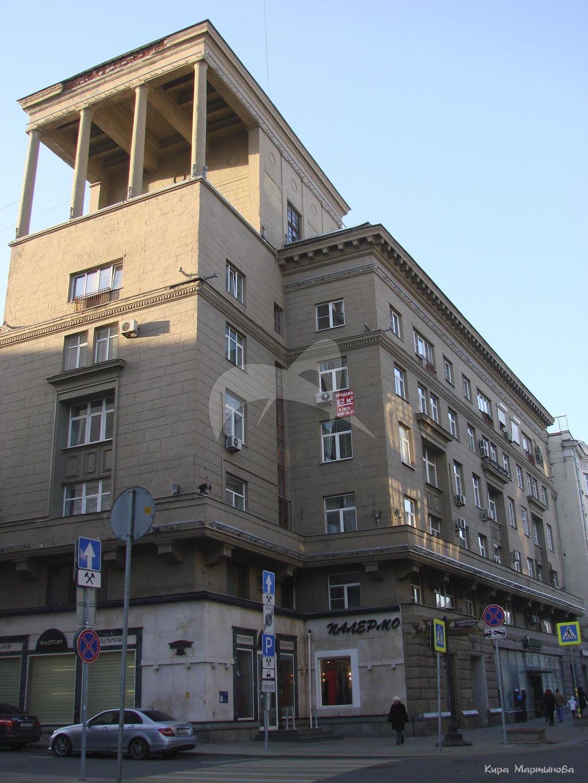Жилой дом Наркомлегпрома, 1935-1936 гг., арх. В.Н. Владимиров, Г.И. Луцкий