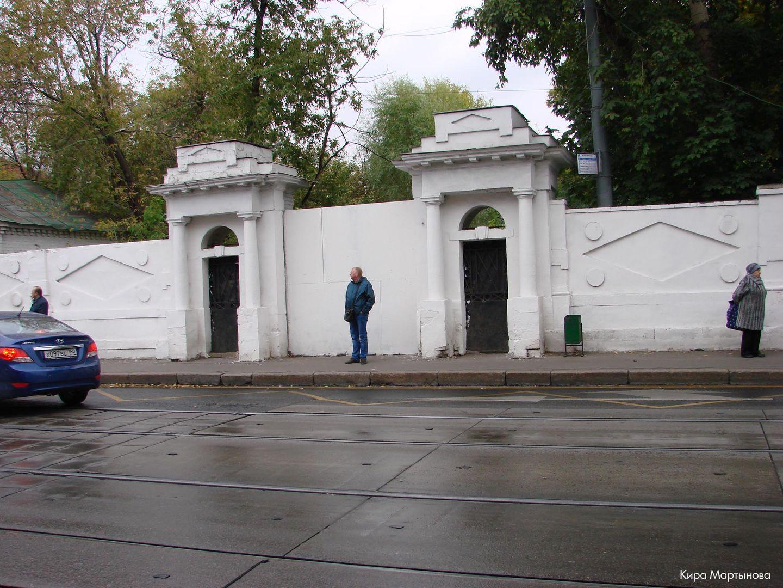 Ограда, XVIII в., 1800-е гг.
