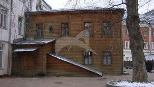 Дом, в котором в 1912-1913 гг. жил поэт С.А. Есенин