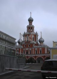 Церковь Знамения на Шереметевом дворе, конец 1680-х гг.