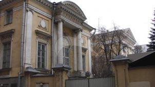 Дом Разумовского, 1782-1783 гг.