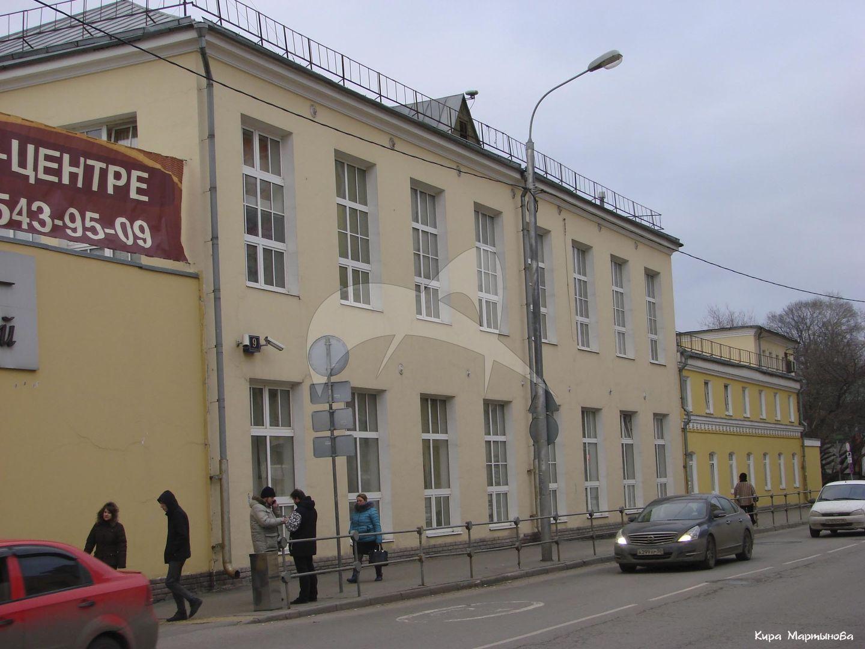 Корпус служб, городская усадьба (Носова), XIX в.