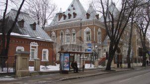 Музейный склад, 1905 г., арх. Кольбе Ф.Н., усадебный комплекс Щукина П.И.