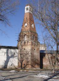 Крепостная башня «Кузнечная», XVII в., Симонов монастырь