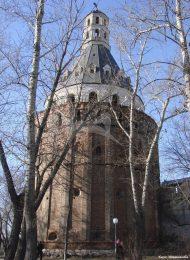 Крепостная башня «Дуло», XVII в., Симонов монастырь