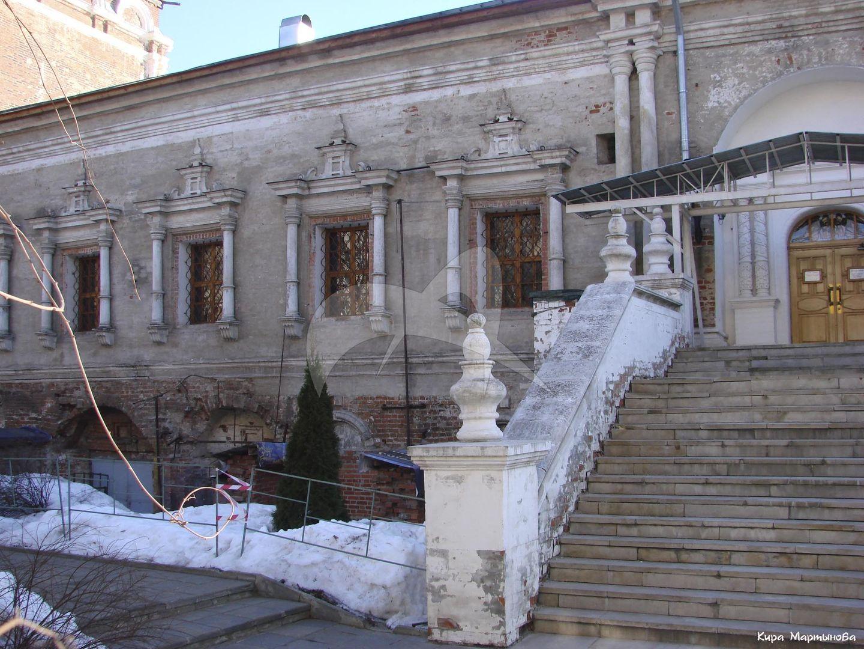 «Новая» трапезная, 1677-1680 гг., арх. П. Потапов, Симонов монастырь