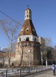 Крепостная башня «Солевая», XVII в., Симонов монастырь