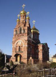 Церковь Всех Святых, 1887-1891 гг., Алексеевский женский монастырь в Красном селе