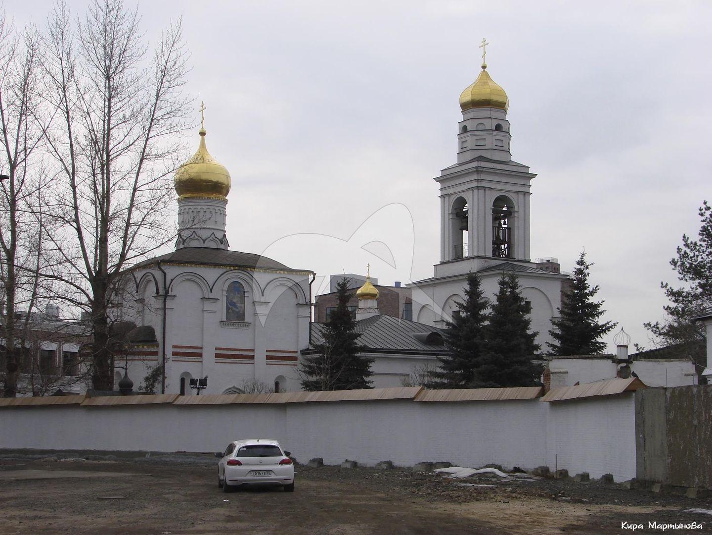 Церковь Рождества на Старом Симонове, 1509 г., Симонов монастырь