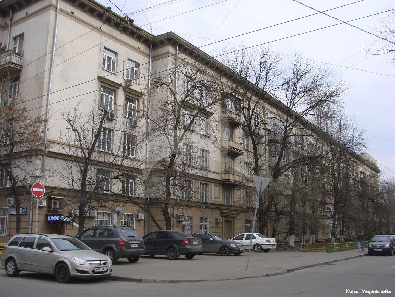 Жилой дом, 1930 г., арх. Н.М. Молоков, жилой поселок «Дангауэровка»