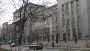 Здание разведшколы, 1930-е гг., жилой поселок «Дангауэровка»