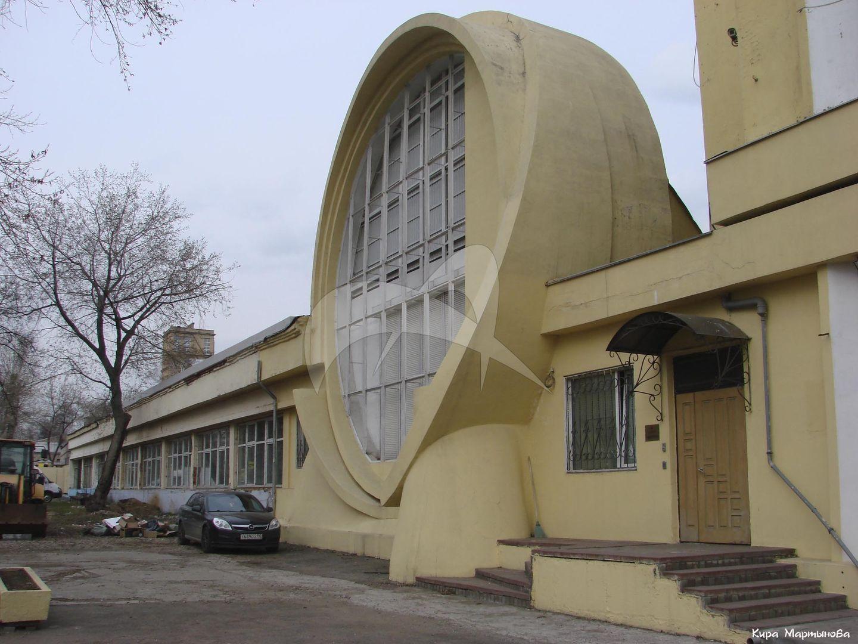 Гараж для Госплана, 1936 г., арх. К.С. Мельников