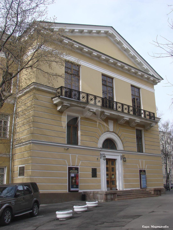 Административное здание Совмина РСФСР, 1950-1953 гг., арх. В.Г. Гельфрейх, В.Я. Кабанов