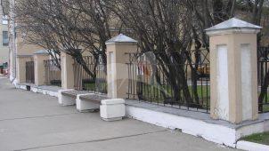 Ограда, дом Ф.А. Остермана