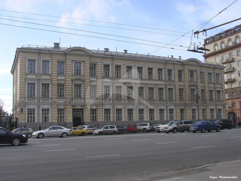 Здание 4-ой женской гимназии, 1887-1888 гг., арх. М.К. Геппенер