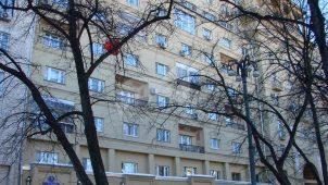 Жилой дом, 1936 г., арх. В.Н. Владимиров. Здесь жил авиаконструктор Н.Н.Поликарпов
