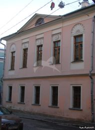 Дом,  конец XVIII в. с палатами XVII в.