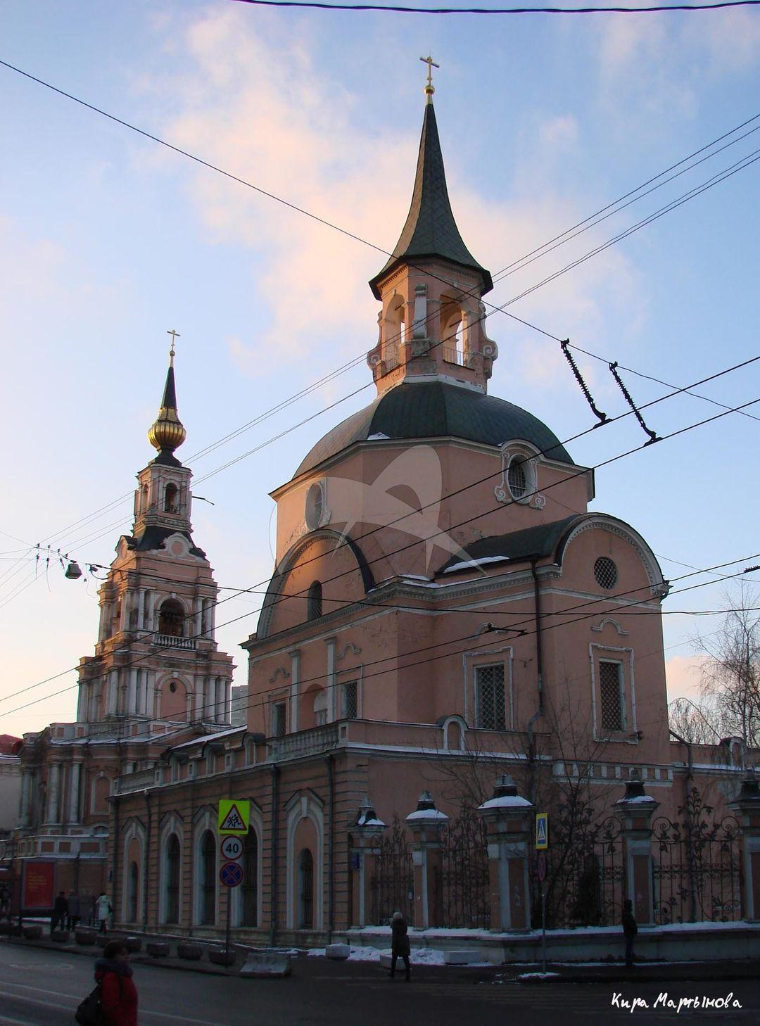Церковь Петра и Павла, 1704-1723 гг., арх. И.П. Зарудный. Колокольня, 1745 г.