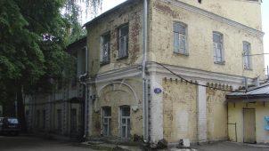 Флигель, 1880 г. (жилой дом, конец XIX в.), городская усадьба Голицыных