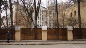 Ограда, особняк А.Ф. Беляева, 1904 г., арх. И.И. Бони