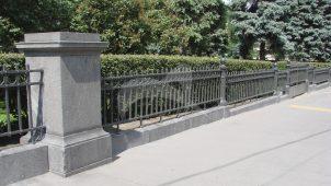 Ограда, музей изящных искусств, 1912 г., арх. Р.И. Клейн