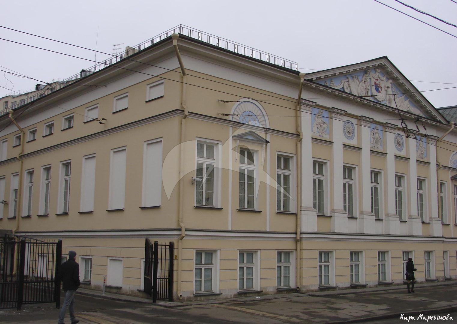 Городская усадьба, конец XVIII в., арх. М.Ф. Казаков