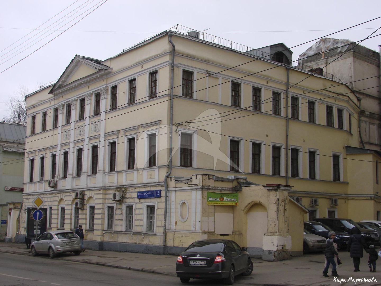 Жилой дом Плещеева, 1797 г., арх. М.Ф. Казаков