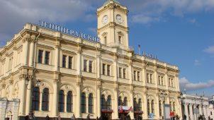 Здание Ленинградского вокзала, 1851 г., арх. К.А. Тон