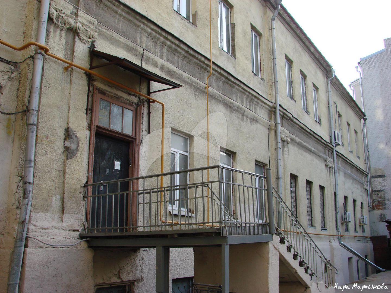 Палаты камергера В.И. Мошкова, 1752 г., арх. Д.В. Ухтомский