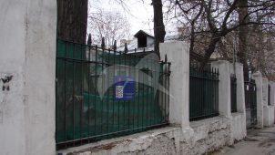 Ограда, 1-я половина XIX в., городская усадьба С.М. Шибаева
