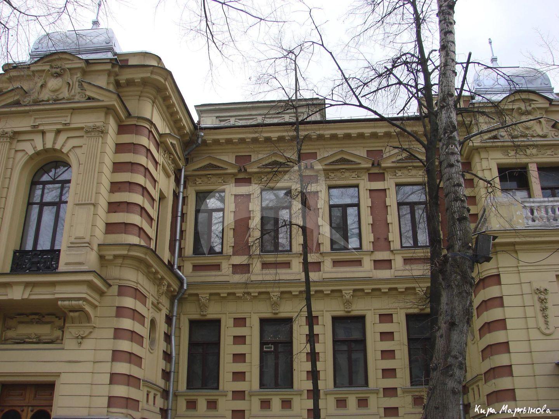 Главный дом, городская усадьба Ф.И. Прове – А.И. Калиш, 1892 г., арх. К.В. Трейман