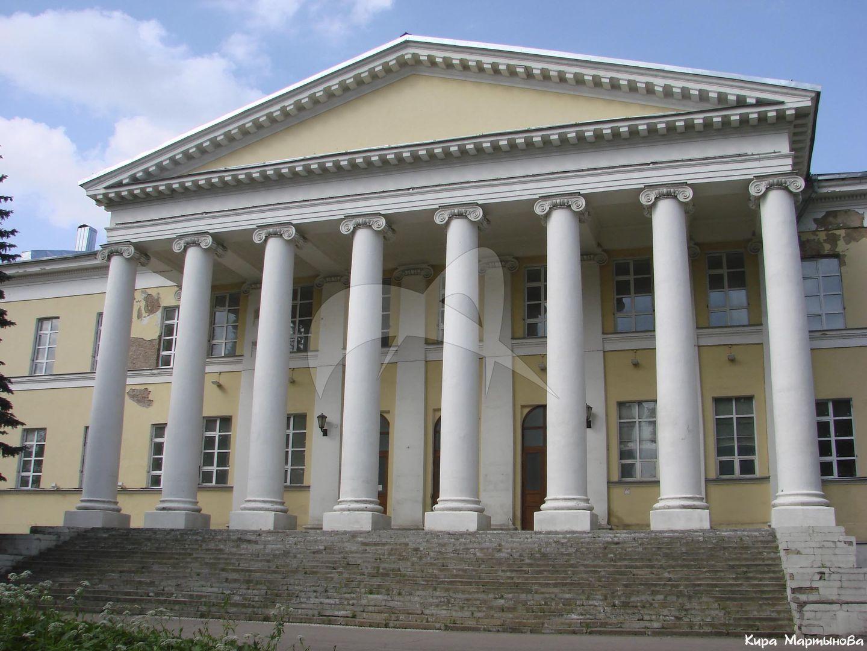 Главный корпус, 1803-1805 гг., по проекту И.Д. Жилярди, Мариинская больница