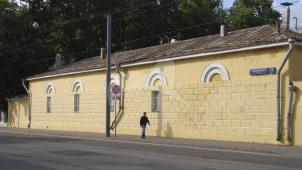 Служебный флигель Александровского института, начало XIX в.
