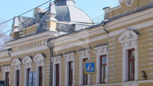 Главный дом, 1-я треть XIX в. (?) 1888 г., арх.  Д.Н. Чичагов, городская усадьба К.В. Капцовой