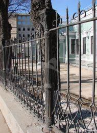 Ограда, 2-я половина XIX в., городская усадьба Е.Н. Вандышниковой — Э.М. Банза